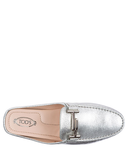 Women's leather mules clogs secondary image