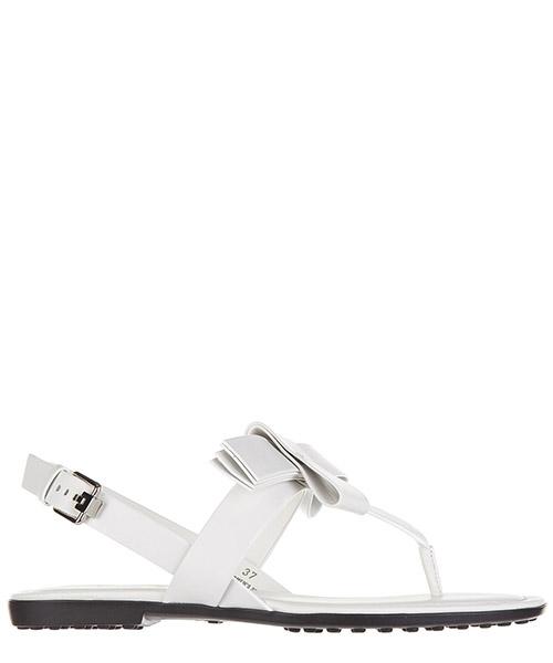 T-bar sandals Tod's xxw00v0q230br0b001 bianco