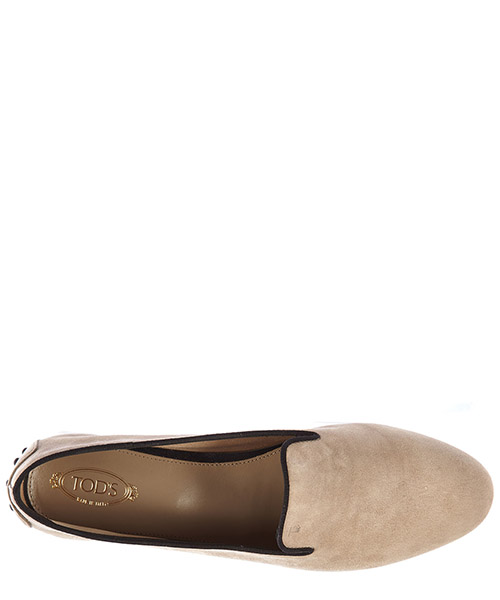 Women's suede loafers moccasins corda secondary image