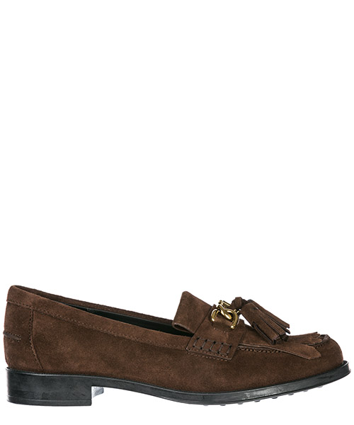 Mocassins Tod's Double T XXW0RU0AM20RE0S611 marrone