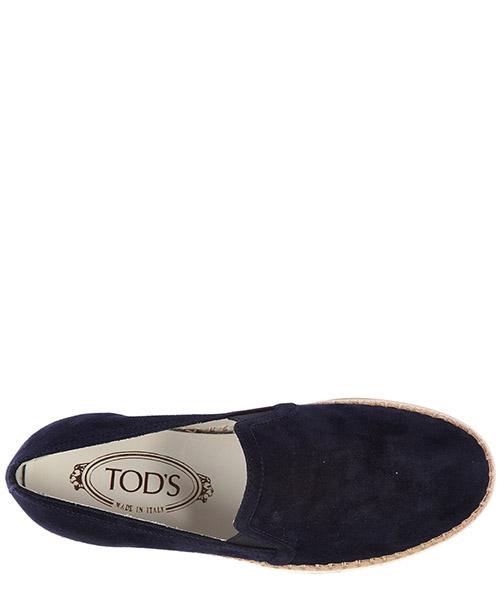 Slip on donna in camoscio sneakers  rafia secondary image