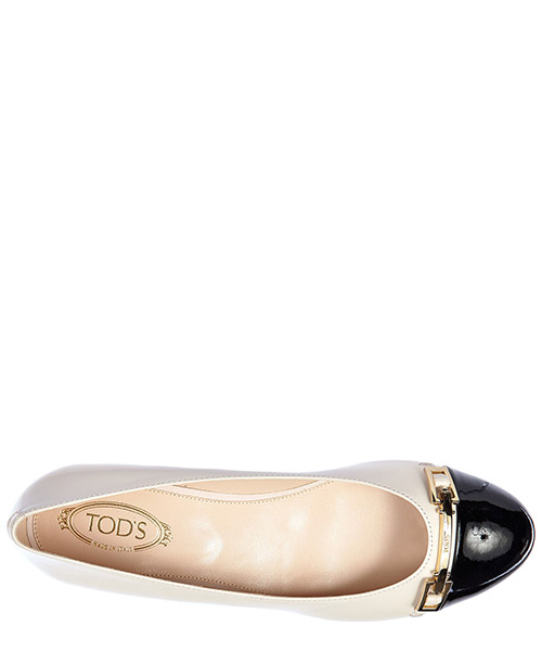 Ballerines femme en cuir  clamp secondary image