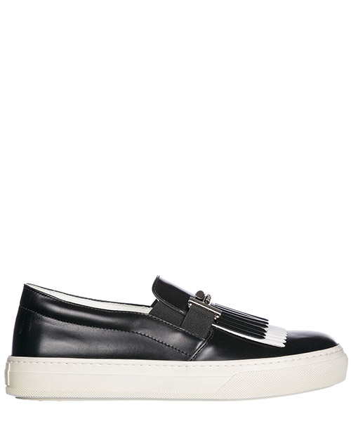 Slip on shoes Tod's XXW0XK0V020HGN0002 bianco / nero