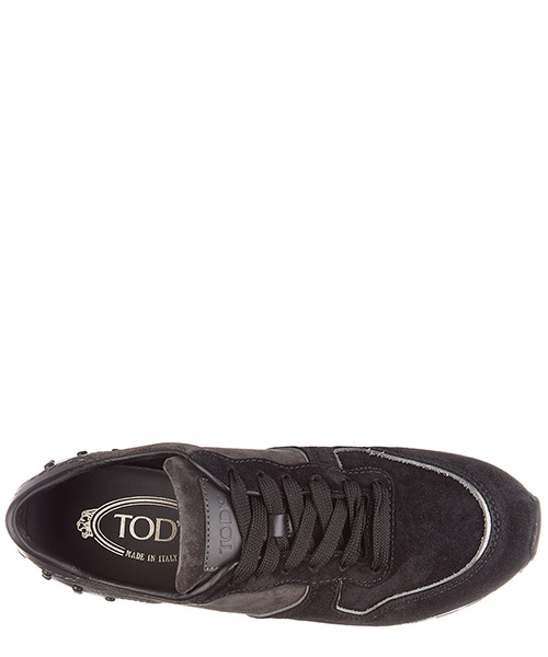 Chaussures baskets sneakers femme en daim secondary image