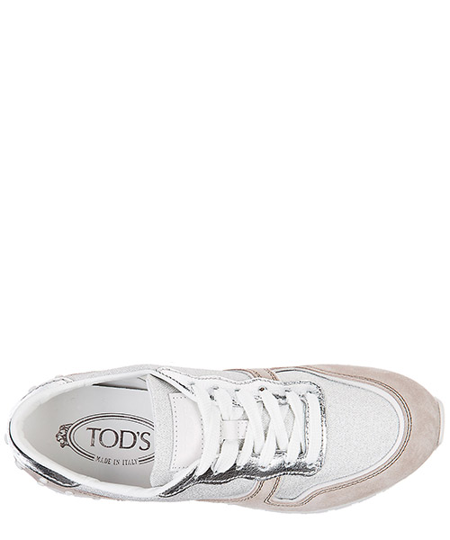 Women's shoes suede trainers sneakers sportivo secondary image