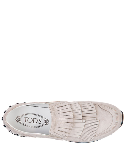 Damen wildleder slip on slipper sneakers  sportivo secondary image