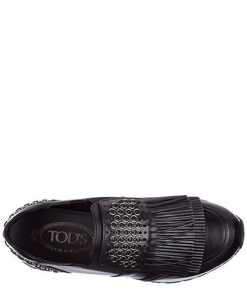 Slip on donna in pelle sneakers secondary image