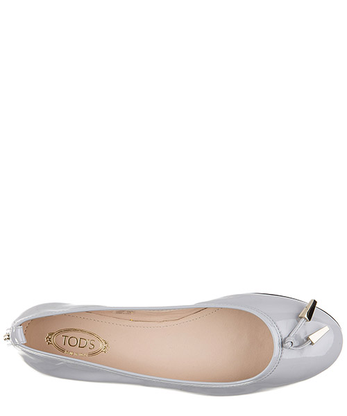 Damen leather ballet flats ballerinas  des yh laccetto terminali secondary image