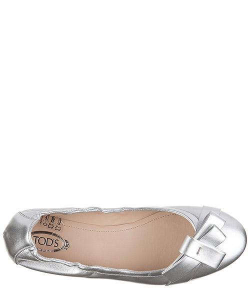 Women's leather ballet flats ballerinas  des yh bow secondary image