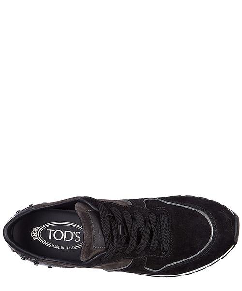 Scarpe sneakers donna camoscio sportivo yo allacciata secondary image