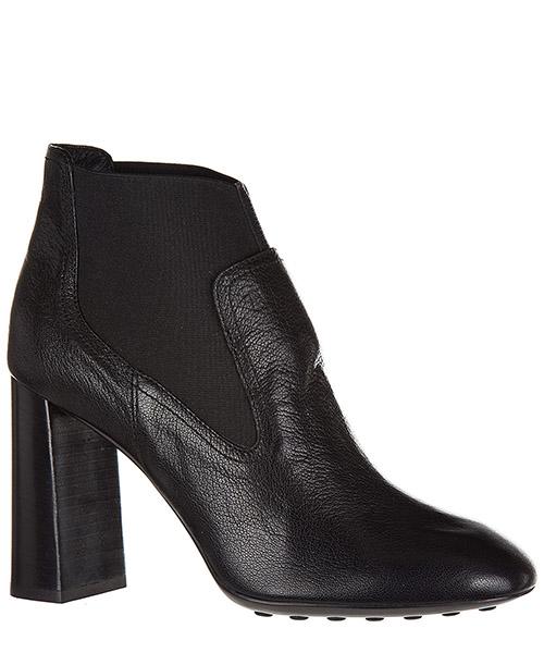 Stivaletti stivali donna con tacco in pelle t95 secondary image
