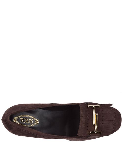 Women's suede pumps court shoes high heel t70 secondary image