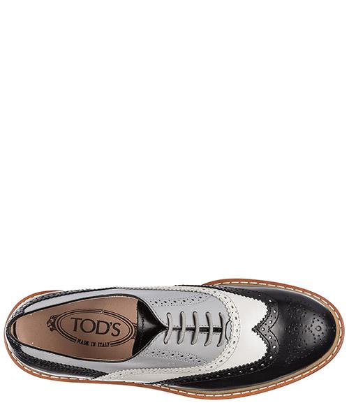 Clásico zapatos de cordones mujer en piel t50 oxford secondary image