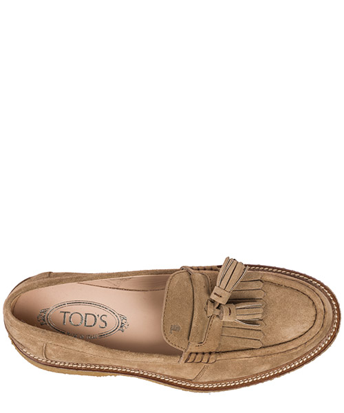Women's suede loafers moccasins secondary image