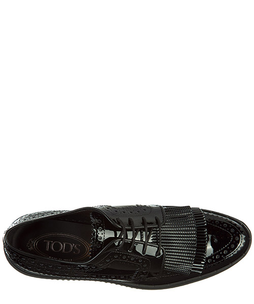 классические туфли на шнурках женские кожаные derby secondary image