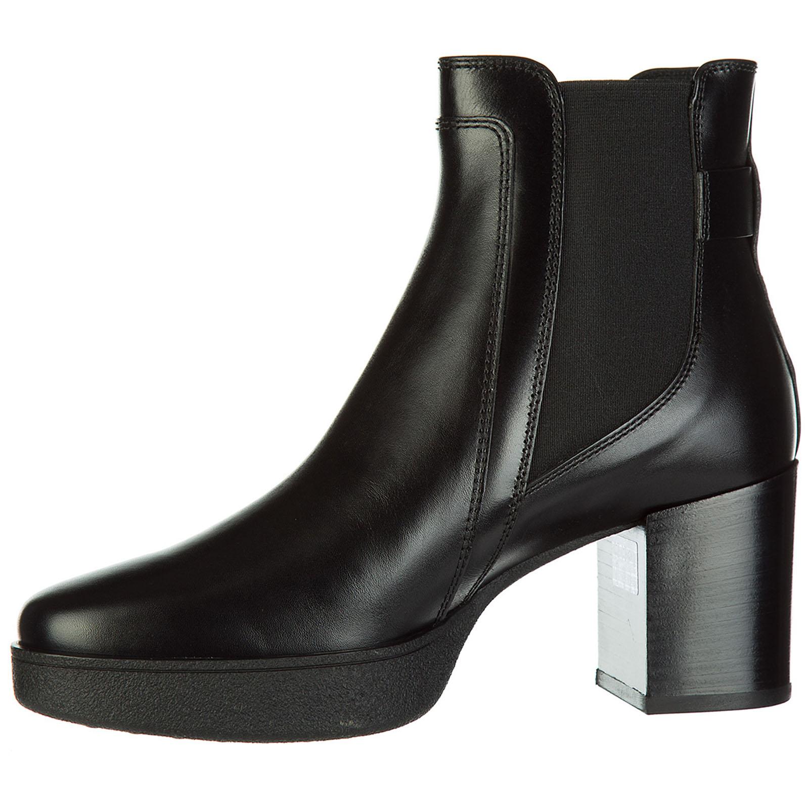 Botines de tacón botas mujer en piel