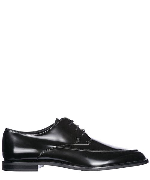 Chaussures à lacets classiques femme en cuir derby