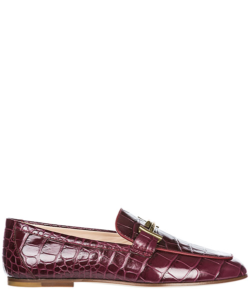 Mocasines Tod's Double T XXW79A0Z370JO9R810 bordeaux