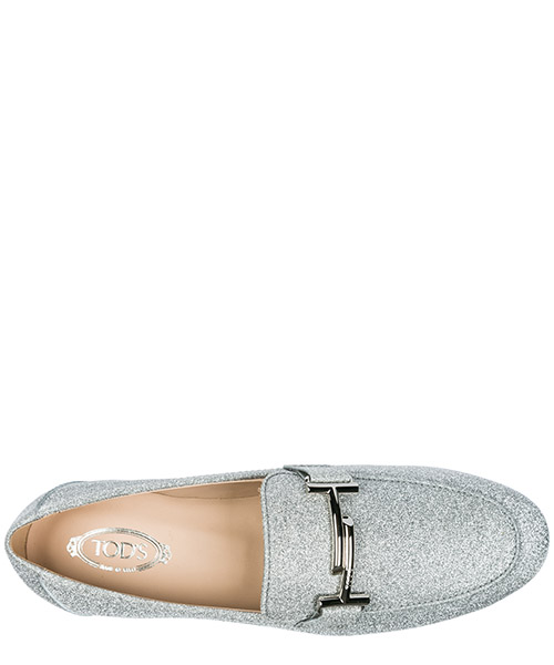 Mocassins femme en cuir  double t secondary image