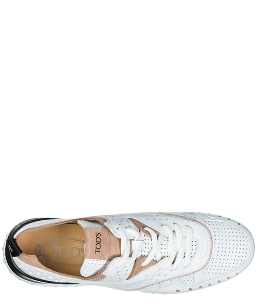 Women's shoes leather trainers sneakers secondary image