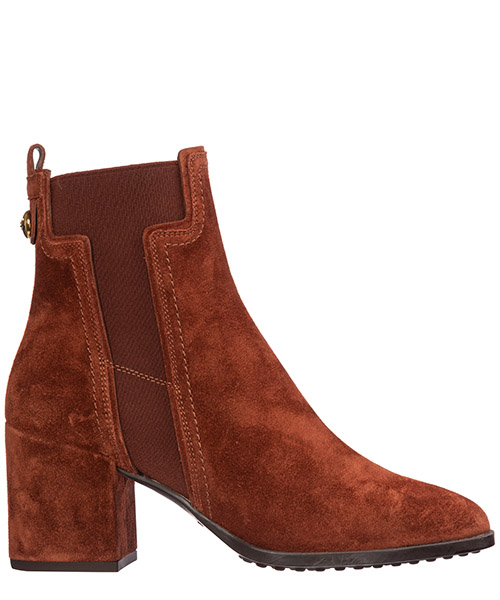 Heeled ankle boots Tod's xxw83b0br70byes206 terra di siena