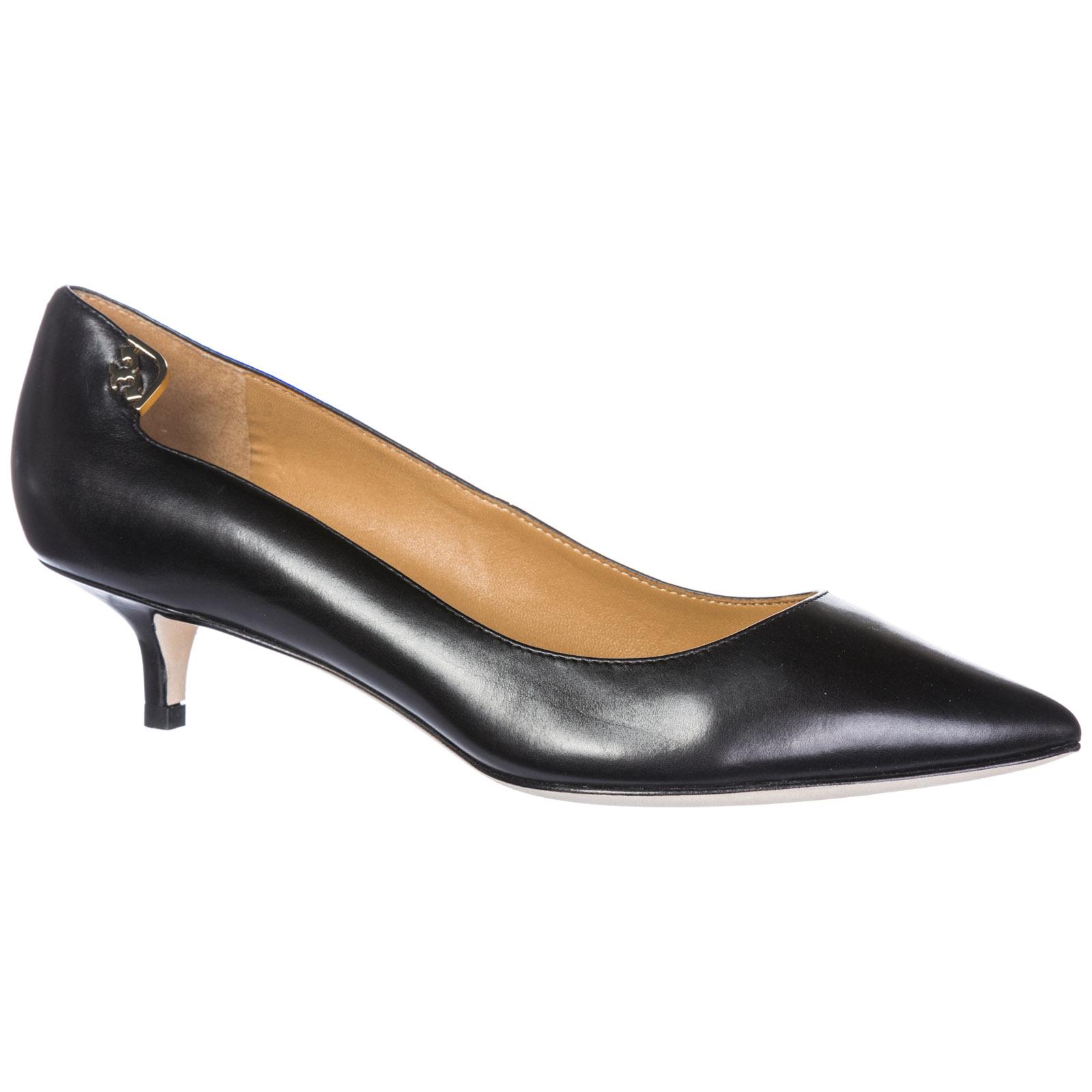 cef4bf0e0 Tory Burch Women's leather pumps court shoes high heel elizabeth