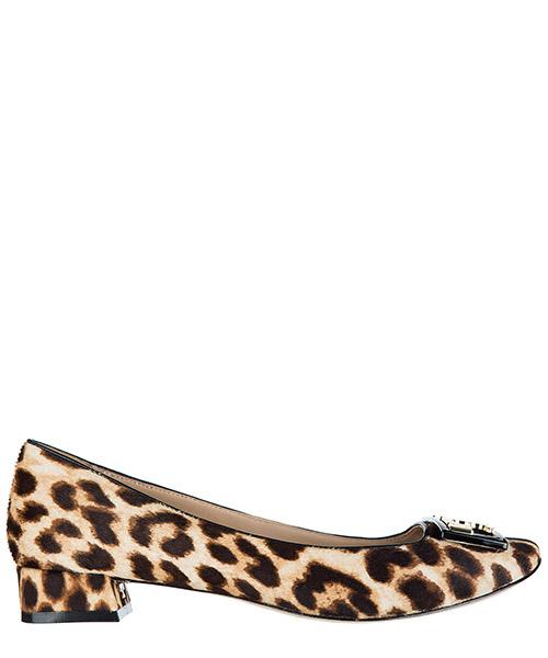 Ballerina Tory Burch Leopard 39684 221 nero