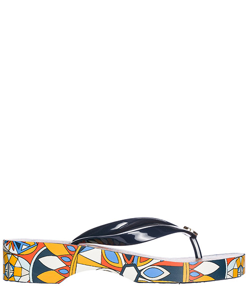 Infradito Tory Burch 46006 tory navy / psychedelic geo