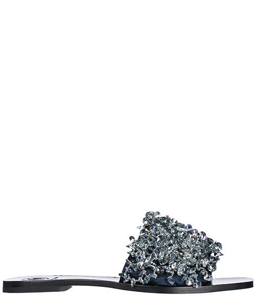 Slides Tory Burch 46249 022 grigio