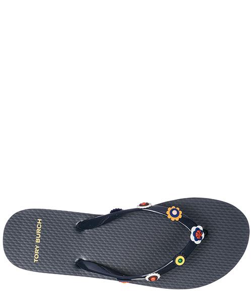 Women's rubber flip flops sandals marguerite secondary image