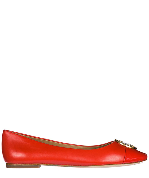 Ballet flats Tory Burch 46882807 poppy orange