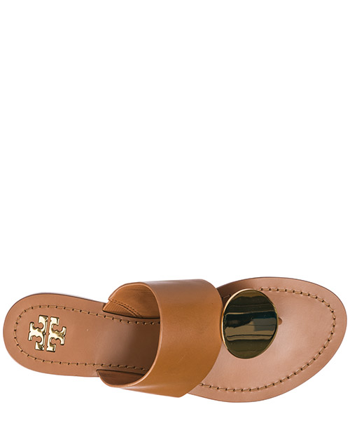 Women's leather flip flops sandals secondary image