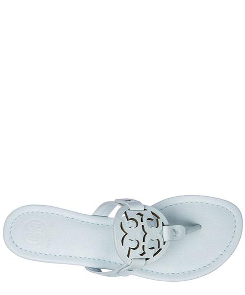 Women's leather flip flops sandals miller secondary image