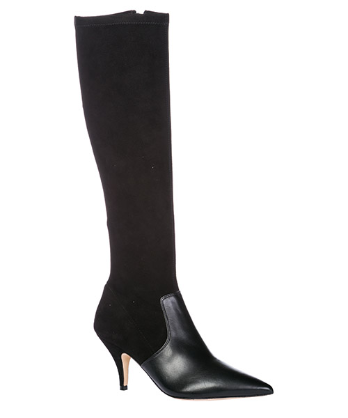 Women's leather heel boots georgina secondary image