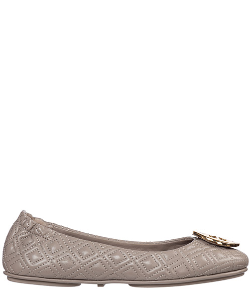 Bailarinas Tory Burch minnie 50736 976 dust storm / gold