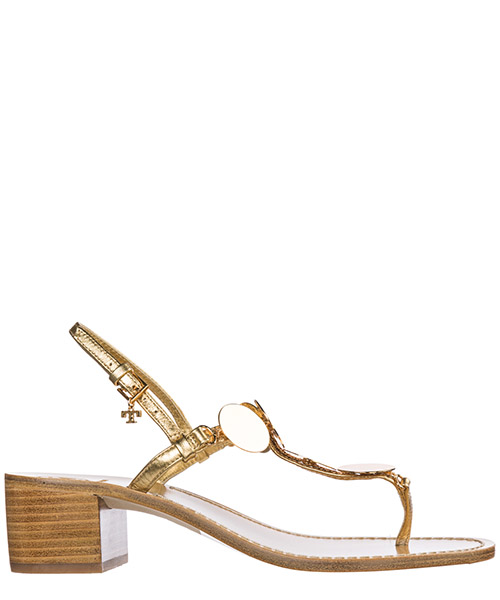 Sandalias Tory Burch Patos Disk 55720 709 gold