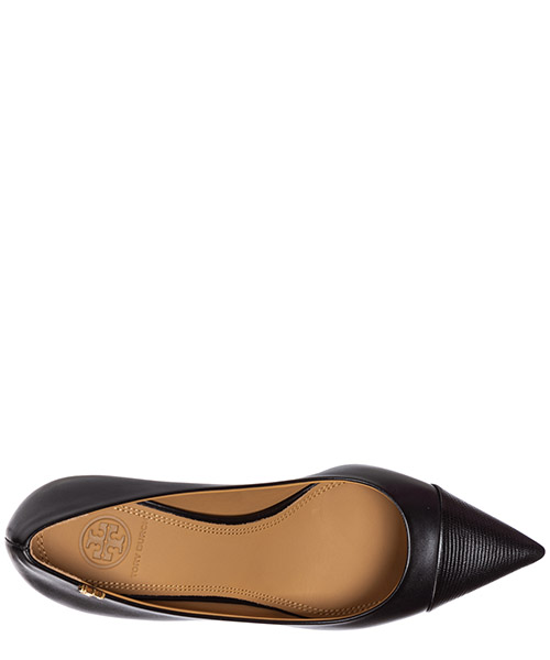 Zapatos de salón escotes mujer en piel penelope secondary image