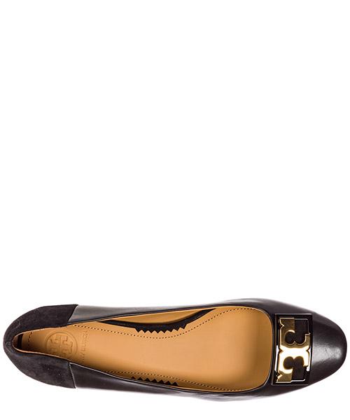 туфли-декольте женские на каблуке кожаные secondary image