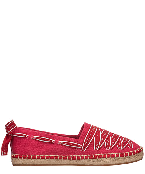 Espadrilles Tory Burch grosgrain 61318 660 bright azalea / brilliant red