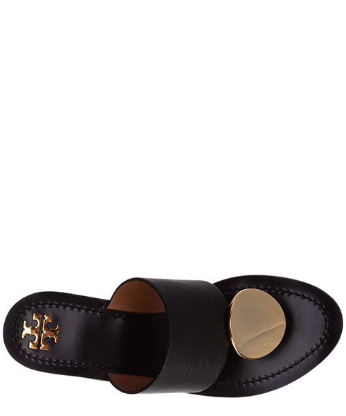 Mujer zapatillas sandalias chanclas en piel patos disk secondary image