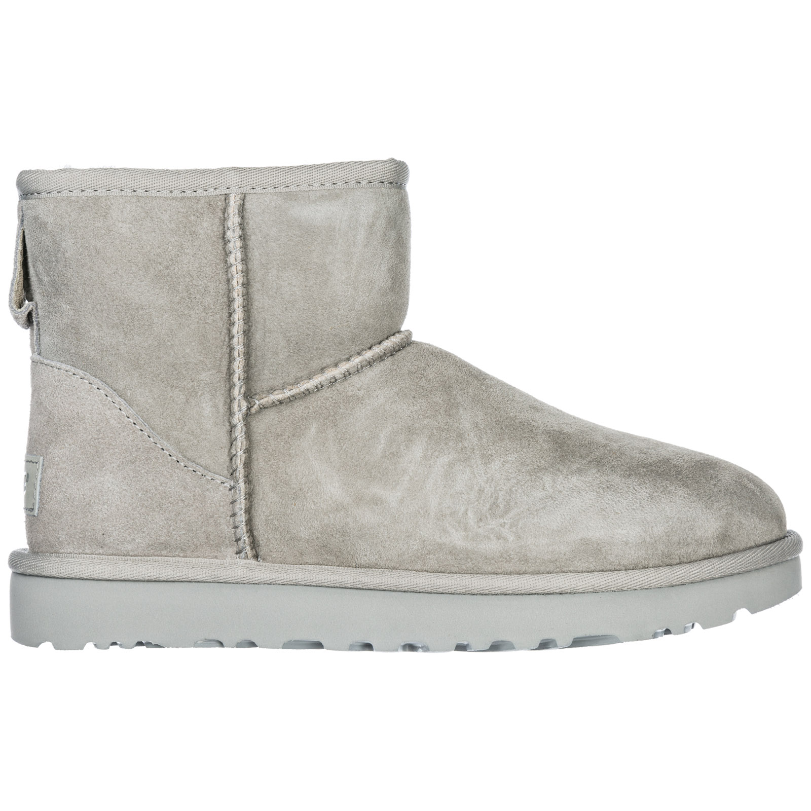 3d7cc43dd1bc8 Ugg Women S Suede Boots Classic Mini Ii In Grey