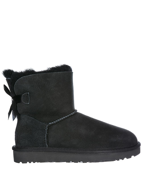 Ботинки UGG Mini Bailey Bow II 1016501 black