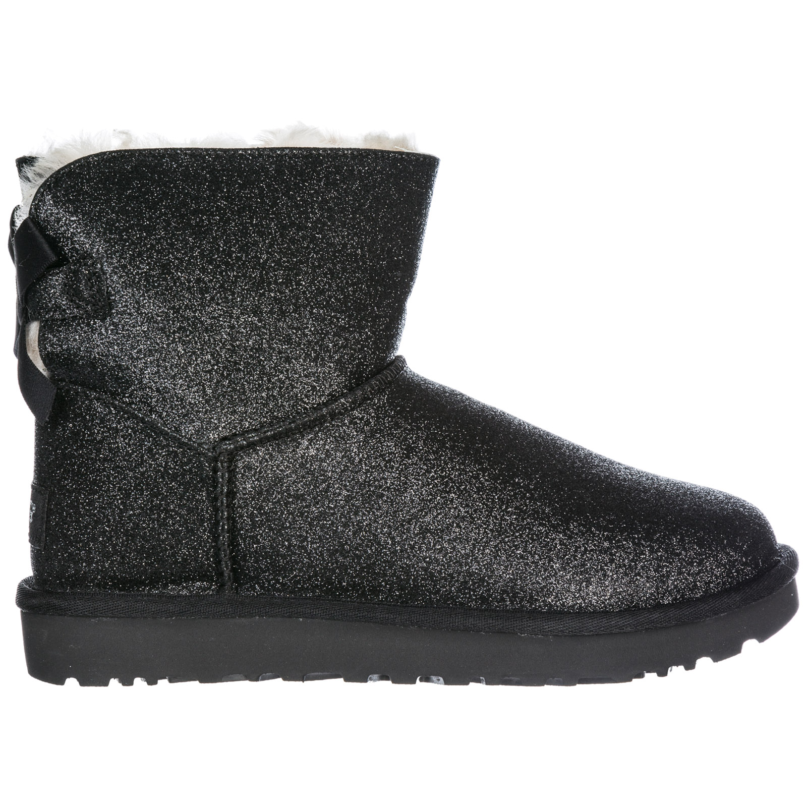 ca7b5b976 UGG Women's Boots Mini Bailey Bow Sparkle in Black. Ugg Women