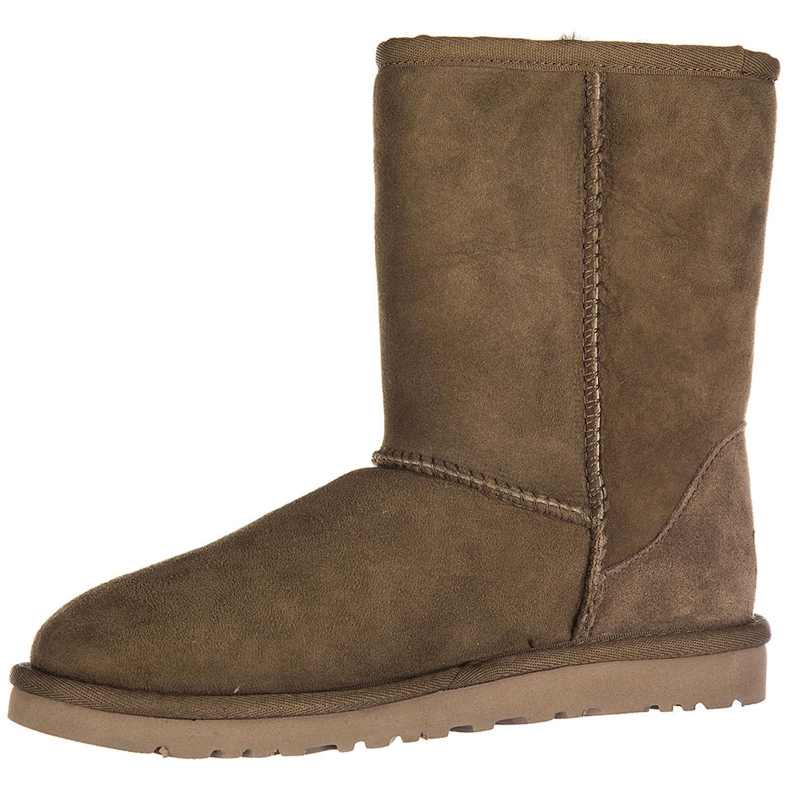Damen wildleder stiefeletten stiefel ankle boots w classic short