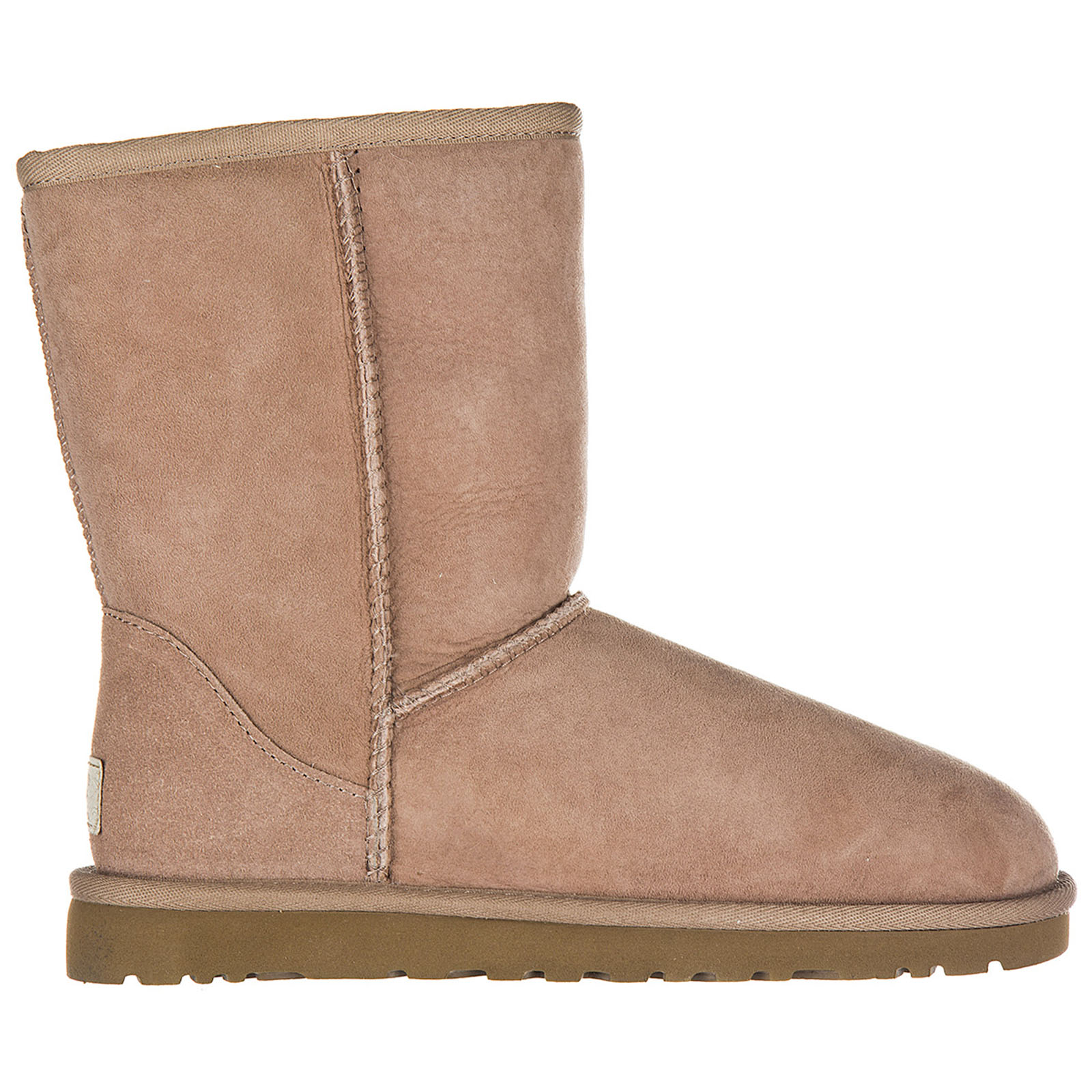 Women's suede ankle boots booties w classic short
