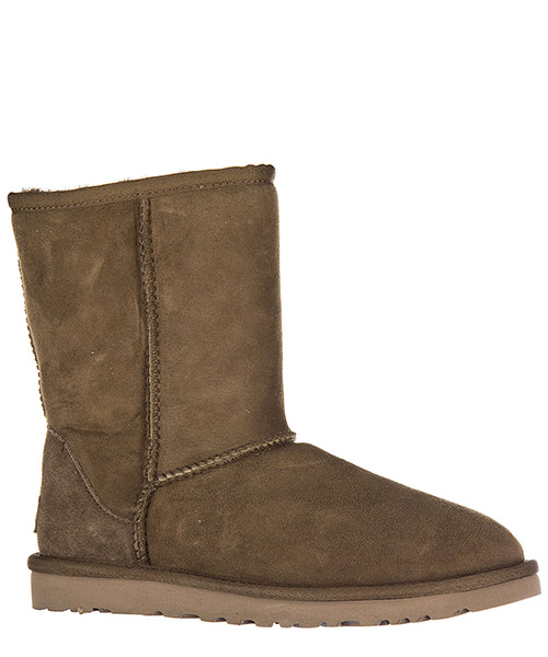 Women's suede ankle boots booties w classic short secondary image