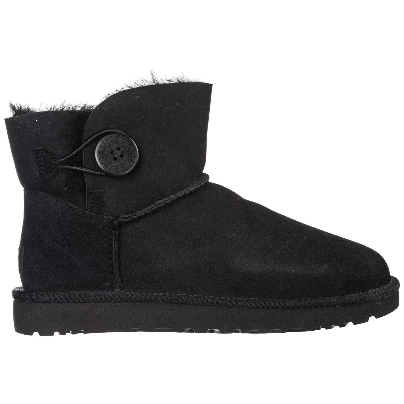 d3c4831fcf1 Women's Suede Ankle Boots Booties Mini Bailey Button in Black