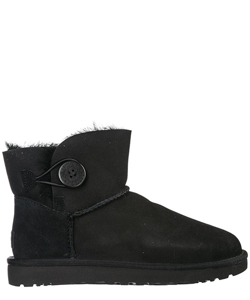 Stiefeletten UGG Mini Bailey Button 1016422 nero