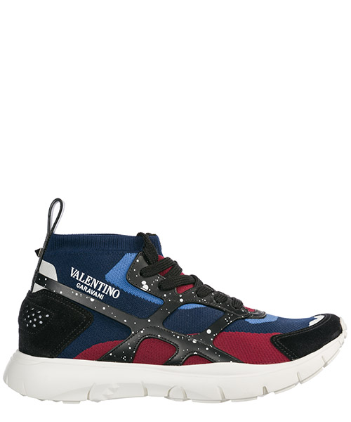Basket montante Valentino QY0S0A57DQH I4M blu