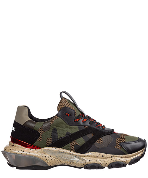 Sneakers Valentino bounce ry0s0b05axt 24h verde